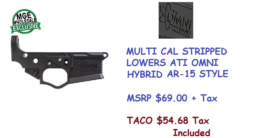 AR-15 Stripped Lowers