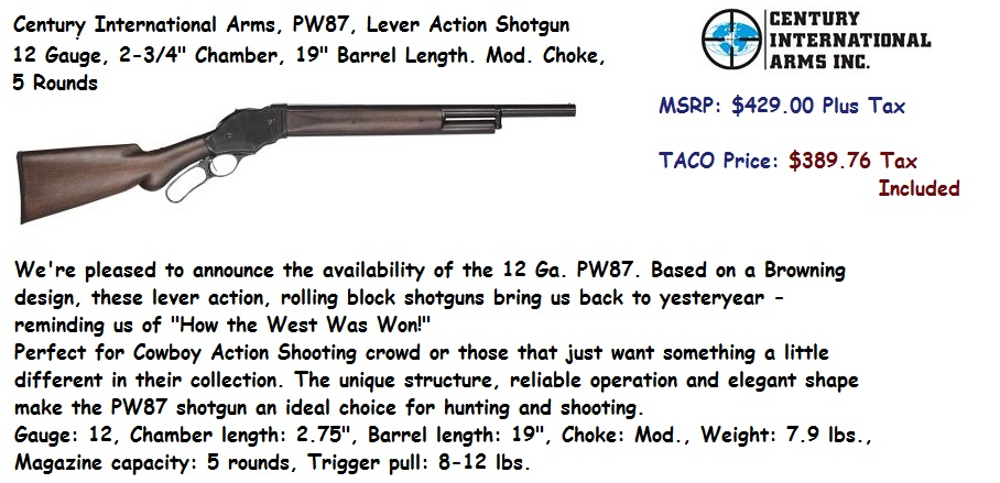 Century-PW87-LeverAction-12ga