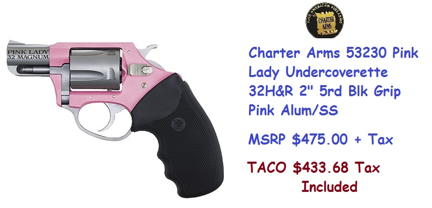 Charter Arms  pink lady-32cal