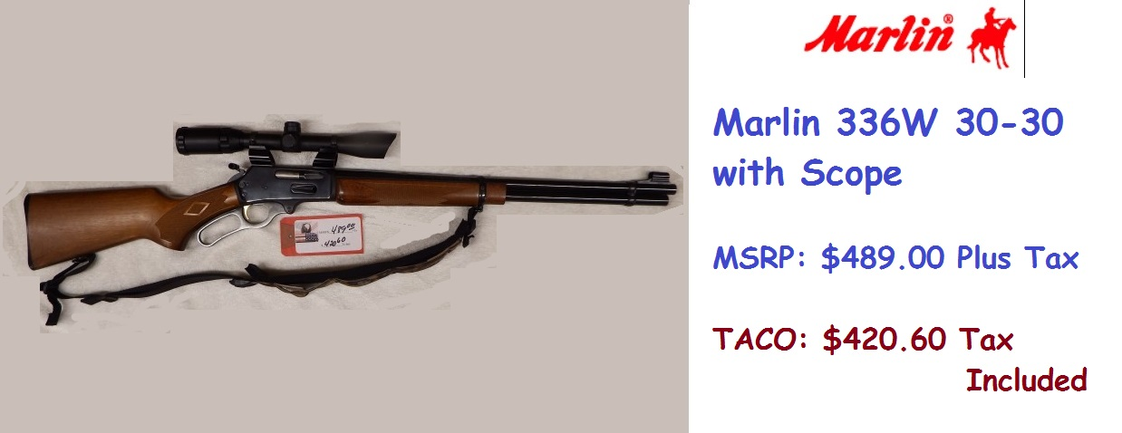 DSCF3683 - Marlin 336W 30-30 with Scope