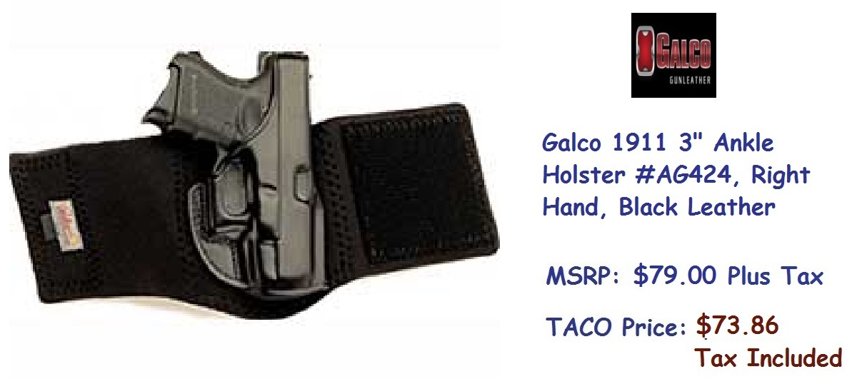 Galco-1911-3inch-Ankle-Holster-RH-AG424-BlackLeather