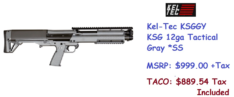 Kel-Tec-KSGGY-KSG-12ga-Tactical-Gray-SS