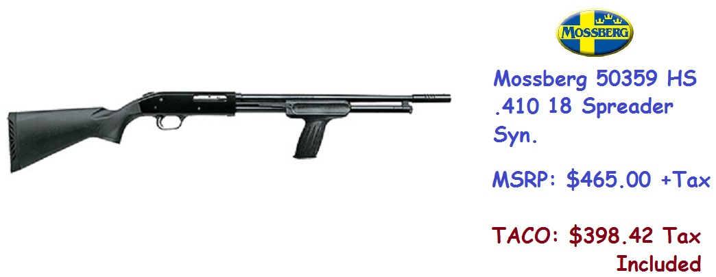 MOSSBERG-SPREADER