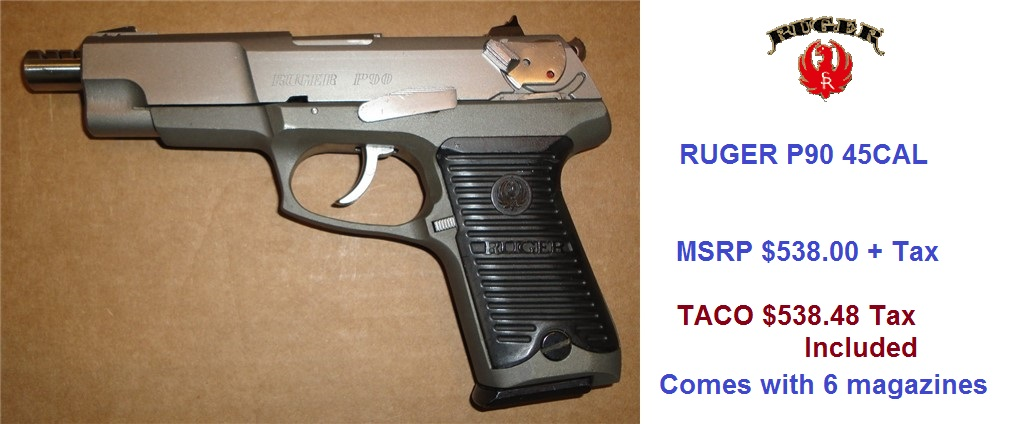 Ruger-P90-45Cal