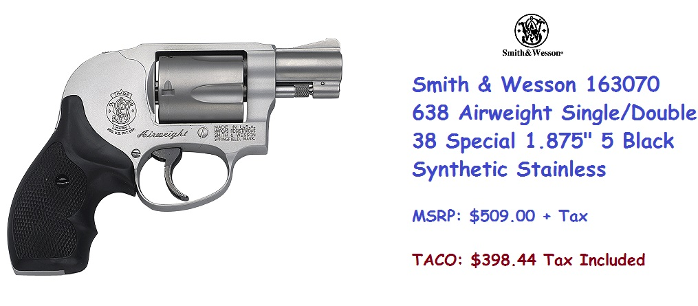 SmithandWeson 38 Special