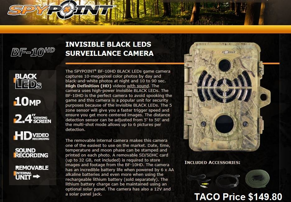 SpyPoint-BF-10HD-Trail-Camera
