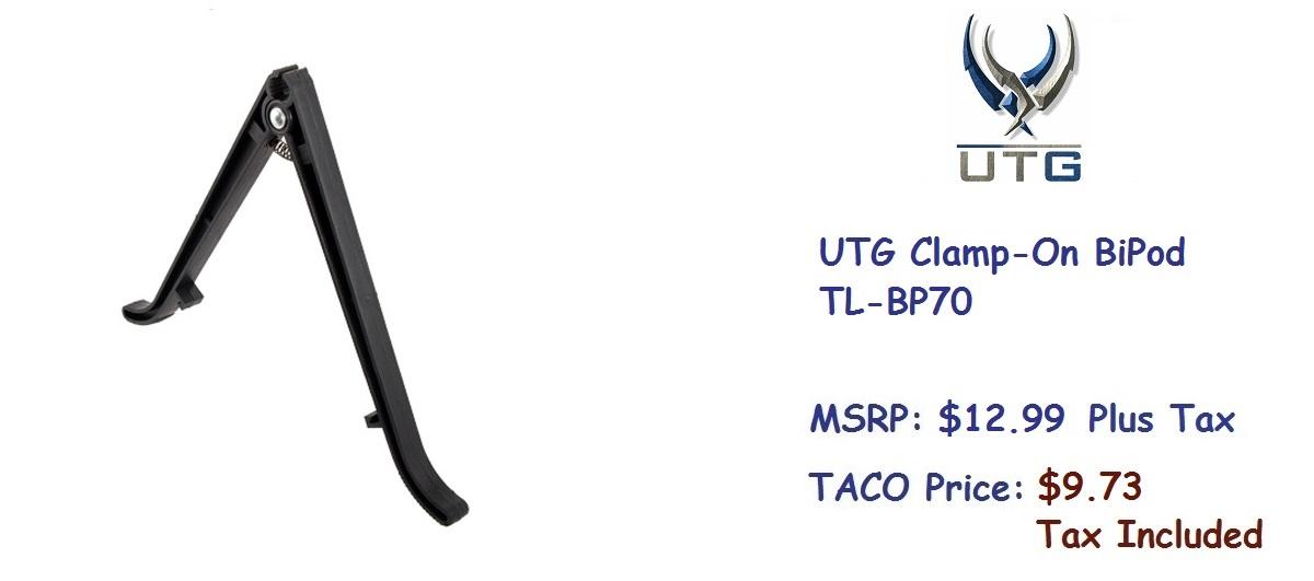UTG-ClampOn-BiPod-TL-BP70