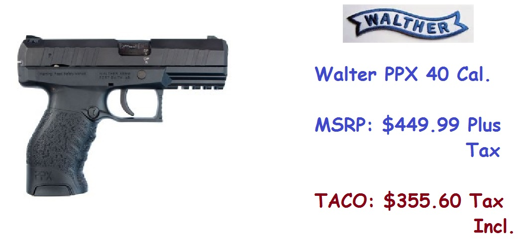WALTHER-PPX40