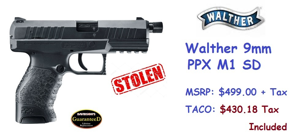 Walther-9mm-PPX-M1-SDSTOLEN